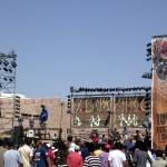 palco festival Essaouira Marocco